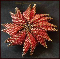 VALENTINE SALE Tutorial Red Flower Seed by MissingJewelbyMilka