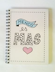 """Cuaderno Bauhaus """"Menos es más"""""""