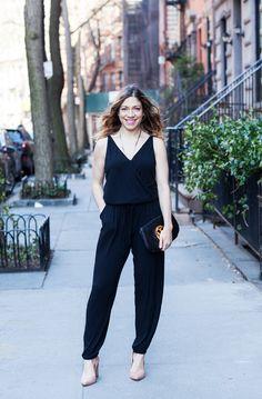 Style Ideas: One Jumpsuit, Two Ways | @halliekwilson