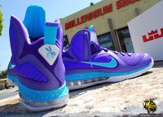 Lebron 9 Summit Lake Hornets