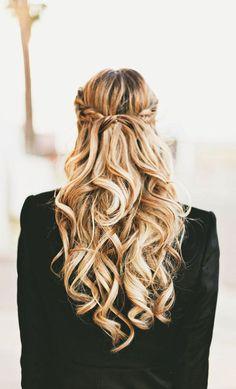 Chic Braided Wedding Hairstyles - A Little Dash of Darling via Hair Romance