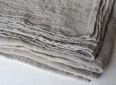 Gray Table linens