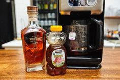 1. A hot toddy Put two tea bags in your coffee pot, let brew, add a shot (or 10) of fine whiskey and some honey. Baby, you've got yourself the hottest toddy this side of the Mississippi!Credit: Cole Saladino/Supercompressor