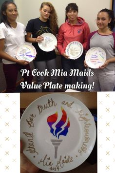 Our Mia Maids activity was to make a Young Women's value plate. Something they would come across daily to remind them of what they represent as daughters of God. 4pk dinner plates from Kmart were only $6 & then design away with Sharpie pens. Place in oven 200 degrees for 20mins and it's set. Easy activity exploring creativity & most importantly fun with purpose :)