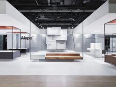 Heine/Lenz/Zizka Projekte presents glazed steel basins as monumental structures in a serene setting via Frameweb.com