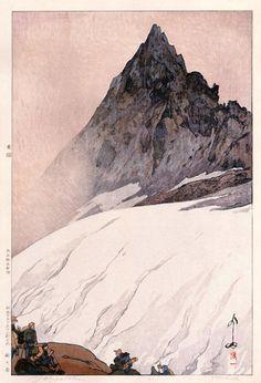 Yoshida Hiroshi, Yarigatake, 1926.