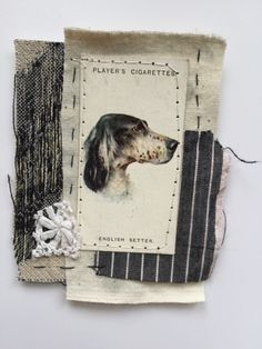 Thread and Thrift: Dogs. Check out this blog for more neat dog collages