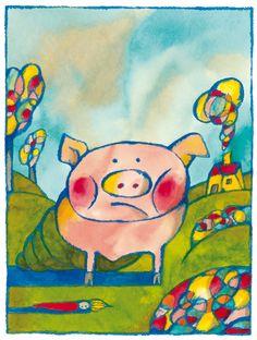 Andrea Rauch, Petit cochon