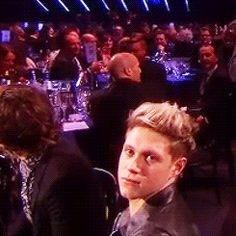 When Niall made every one of these seductive faces at the passing cameras. | The 31 Most Perfect One Direction Moments From The Brit Awards