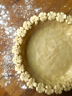 This has literally been a labor of love. I learned how to make pie crust from my mother at a very young age. Every Thanksgiving she made TONS of pie…and given all that she had to get done for…