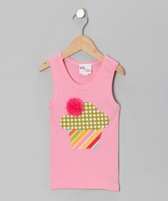 Take a look at this Pink Sophie Cupcake Tank - Infant, Toddler & Girls by Gus & Lola on #zulily today!