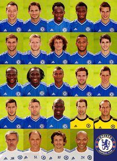 Chelsea FC - Very promising season! Chelsea Fc Team, Chelsea Squad, Chelsea Blue, Chelsea Players, Chelsea News, Chelsea Football, Football Soccer, College Football, Messi