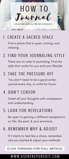 How to Start Journaling to Become More in Tune With Yourself   Journaling helps you gain clarity, reduce stress, and become more in tune with your feelings. Click through for 6 tips to help you get the most out of journaling and connect with yourself on a deeper level.  Journal Ideas   Journaling thoughts   Journaling Therapy   Journaling Inspiration   Self-care   Positive mindset   Personal development   Journaling for Beginners   Mental Health   #selfcare #personaldevelopment