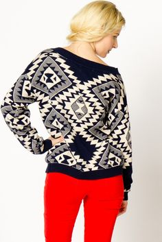 Tribal sweater <3