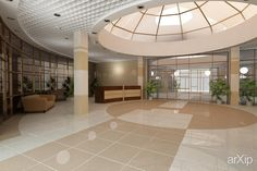 Poliklinika: интерьер, прихожая, холл, вестибюль, фойе, эклектика, больница, поликлиника, хоспис, медицина, потолок, 100 - 200 м2 #interiordesign #entrancehall #lounge #lobby #lobby #eclectic #hospitals #hospice #medicine #ceiling #100_200m2 arXip.com
