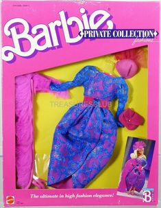 Barbie Private Collection Fashions #1940 New in Package 1988 Mattel, Inc. 3+ | eBay