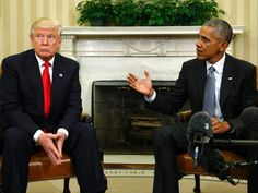 Donald Trump and Barack Obama:  Who's Left on the Side of Right