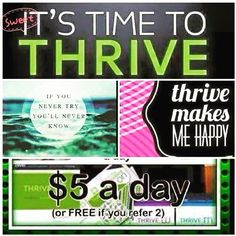 It's Time To Thrive.  Start Today and You'll Be Wishing You Started Yesterday. Register http://akoelzer.le-vel.com