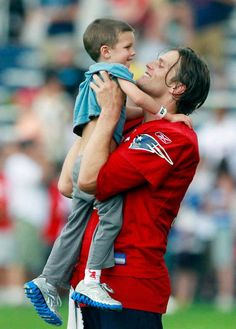Tom Brady and his son!
