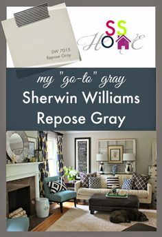 Southern State of Mind: My Go-To Gray Paint Color: Repose Gray