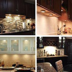 Lte led under cabinet lighting kit 750 lumen puck light kit 3000k lte led under cabinet lighting kit 750 lumen puck light kit 3000k warm aloadofball Images