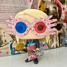 """""""You're just as sane as I am.""""  :  Luna is my choice for #ladiessupersunday - thank you again @flugwusel for this awesome gifts!!   Tagged or not, join in!  :  :  #lunalovegood #quibbler #bookstagram #popstagram #funkofamily #funkoaddict #instabook #harrypotter #jkrowling #potterhead #ravenclaw #gryffindor #igreads #harrypotterfilmwizardry #hogwarts #booklover #booknerd #instabook #yourejustassaneasiam #bookphotography #popphotography #dumbledoresarmy"""