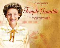 Temple Grandin. She is an amazing Aspie www.oasisyogatherapy.com Special needs Yoga Studio (407)232-1674 Ella Duke - Owner - Instructor Oasis Yoga Therapy for infants, children and adolescents , Orlando, Florida Autism spectrum disorders, Down Syndrome, Anxiety http://www.facebook.com/pages/Oasis-Yoga-Therapy/386403094789164