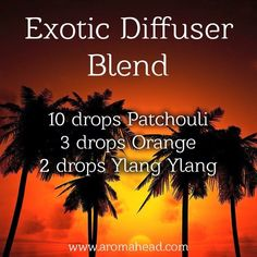 Exotic Diffuser Blend
