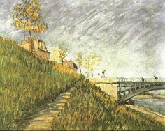 Van Gogh - Berges de la Seine près du Pont de Clichy