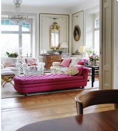 #Pink #chaise