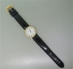 Baume & Mercier 14K Gold Watch. Available @ hamptonauction.com at the Fine Vintage and Modern Watch Auction on September 29th, 2014! Come preview our catalog!