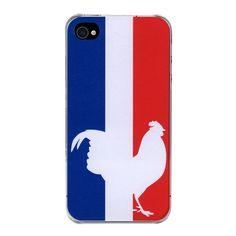 Coque iPhone Drapeau Français par The Phone Dressing