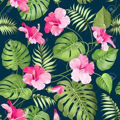 ilustraciones flores tropicales - Buscar con Google