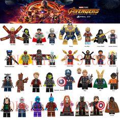1pc Avengers 3 Infinity War Deadpool Spiderman Iron man Panther Figure Magnets