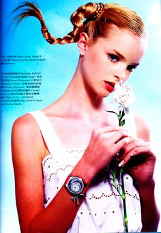ICON magazine - Singapore, March 2006. The Model wears a Liberata by deLaCour.