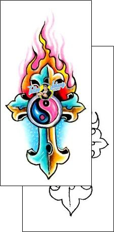 Cross Tattoo ethnic-yin-yang-tattoos-gary-davis-g1f-00896