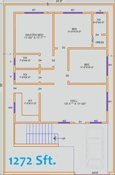 for many, pups layout is an mainly daunting method Low Cost House Plans, 2bhk House Plan, Simple House Plans, Model House Plan, Duplex House Plans, House Layout Plans, Family House Plans, House Floor Plans, 30x50 House Plans