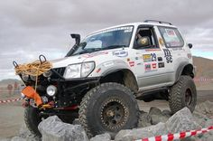 1:10 Toyota 90 Series challenge truck (Outback Challenge) - Scale ...