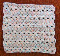 Jewels of the Desert Crocheted Dishcloth