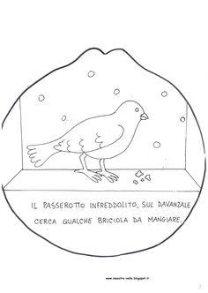 maestra Nella: libretto 'filastrocca invernale'