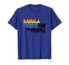 Kamala Harris For President T-Shirt Campaign Slogans, Gay Pride, Pride Flag, Kamala Harris, Rainbow Pride, Branded T Shirts, Lgbt, Fashion Brands, Lesbian