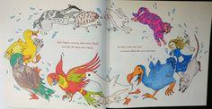 Colouring Escape to Wonderland Caucus race Doble Pagina
