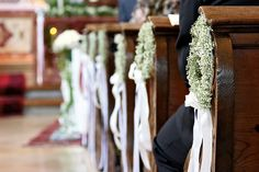 Hochzeitsdeko Kirche Schleierkraut