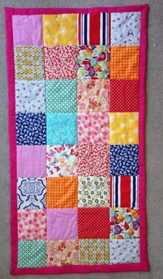 A quilt gift ... via Craftsy
