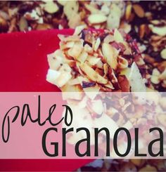 paleo granola is much cheaper and tastier if you make it yourself. Easy and tasty. #paleo
