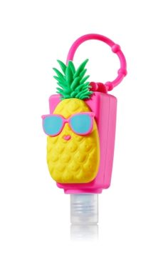 Pineapple - PocketBac Holder - Bath & Body Works - Pineapple power! Adjustable strap attaches to your backpack, purse and more so you can always keep your favorite sanitizer close at hand.
