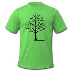 Tre med skygge T-skjorte | Spreadshirt | ID: 24543004