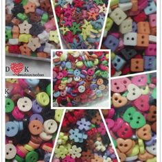 FREE SHIPPING!Mini Buttons Handmade Patchwork Fabric Decoration Button Candy Color blended-color 200pcs/lot Mixed Designs outfit