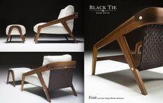Frisè armchair design Beatriz Sempere BlackTie / Pier Luigi Frighetto http://www.blacktiesofas.it/