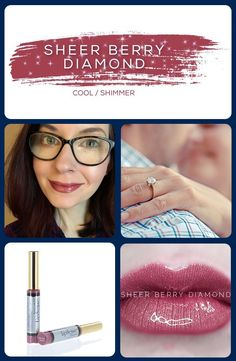 Sheer berry purple with a diamond dust finish. Long Lasting Lip Color, Long Lasting Lipstick, Makesense Foundation, Berry Lips, Kiss Proof, Loose Powder, Tinted Moisturizer, All About Eyes, Color Correction